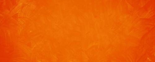 fond de mur de texture de ciment orange foncé photo