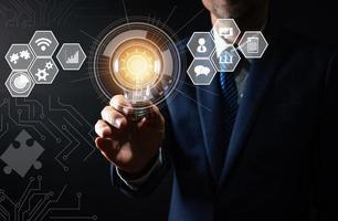 concept d'innovation et de technologie