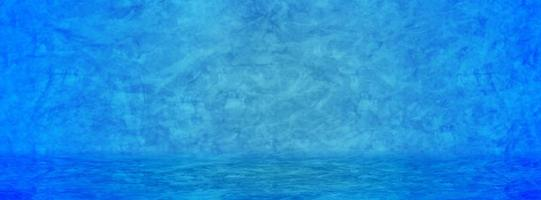 fond de bannière bleue
