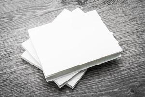 cahier blanc vierge photo