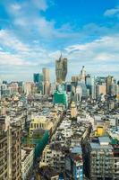 paysage urbain de la ville de macao