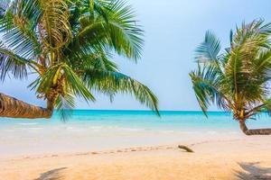 plage tropicale en thaïlande