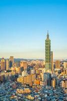 La tour Taipei 101 dans la ville de Taipei, Taiwan photo
