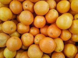 pile de mandarines photo