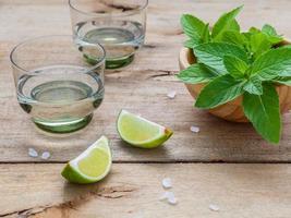 citron vert et menthe pour mojitos