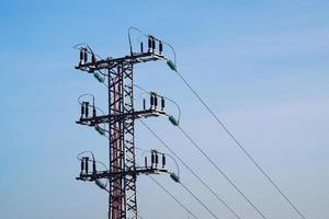 tour électrique pour l'approvisionnement en électricité
