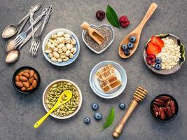 aliments sains pour le petit-déjeuner