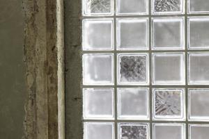 fenêtres en verre dépoli photo