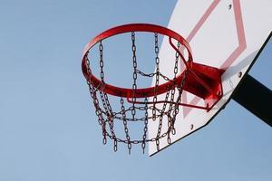 panier de basket de rue