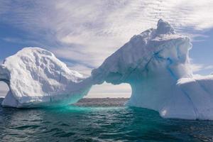 Iceberg en forme de l'Antarctique