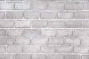 détail du mur de briques