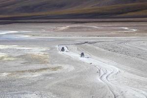 laguna verde en bolivie photo