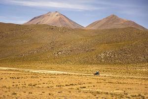 Désert de Dali en Bolivie photo