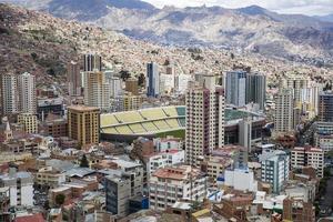 la paz, bolivie photo