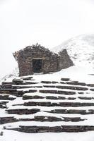 Montagne Chalcaltaya en bolivie photo