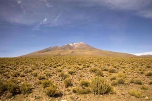 Volcan Licancabur en bolivie
