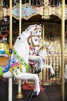 détail du carrousel vintage