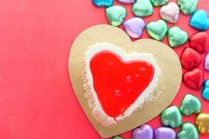 décorations en forme de coeur