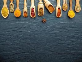 épices en cuillères avec espace copie