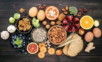 concept de régime alimentaire sain photo