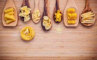 pâtes en cuillères photo