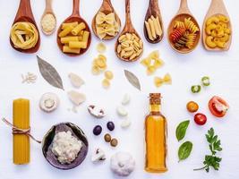 plat de la cuisine italienne photo