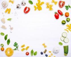 cadre de la cuisine italienne