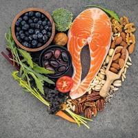 ingrédients sains pour le cœur photo