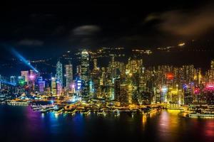 Vue de la ville de hong kong, Chine