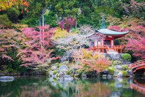 Temple Daigoji à Kyoto, Japon