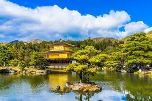 Temple Kinkakuji ou pavillon d'or à Kyoto, Japon
