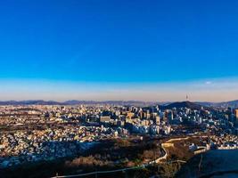 Vue de la ville de Séoul, Corée du Sud photo