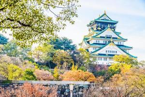 Château d'Osaka au Japon photo