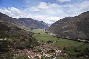 Vallée sacrée des incas au pérou photo