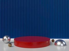 éléments de conception minimale de forme géométrique, rendu 3d photo