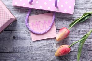 cadeau de fête des mères photo