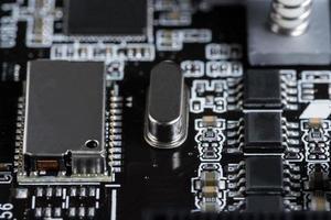 technologie de puce électronique photo