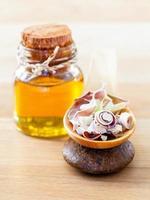 huile d'aromathérapie à la citronnelle