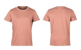 chemise orange clair photo