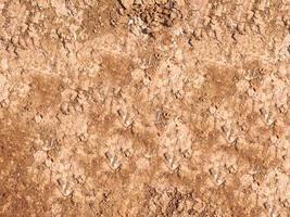 patch de sol sec et craquelé photo
