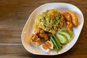 nourriture thaï frite photo