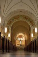 Wisconsin 2020- à l'intérieur de la basilique de la colline sainte à hubertus, wisconsin photo
