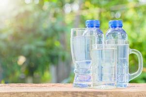 eau potable propre photo