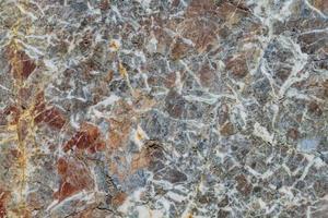 texture de la surface d'un marbre veiné photo