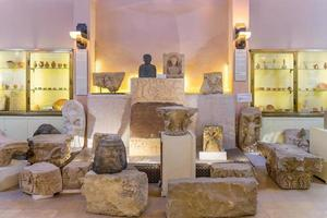 Intérieur du musée archéologique de la Jordanie à Amman, Jordanie, 2018 photo