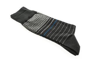 chaussettes sur fond blanc