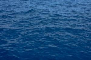 mer bleue, vue d'en haut