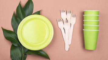 vaisselle biodégradable zéro déchet