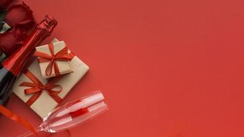 articles de la saint-valentin avec espace copie photo