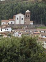 Pérou 2015 - vue d'un village péruvien traditionnel près de Cusco photo